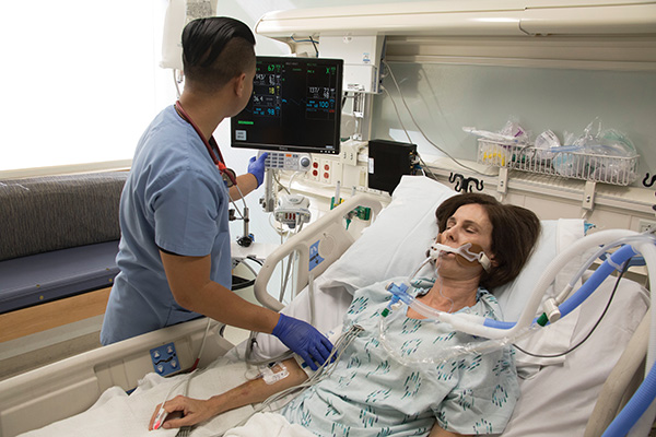 patient on airway pressure release ventilation